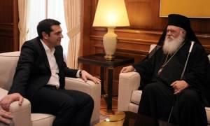 Φωτιά Αττική: Έκτακτη τηλεφωνική επικοινωνία Τσίπρα - Αρχιεπισκόπου Ιερωνύμου