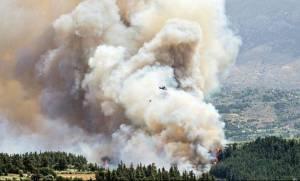 Φωτιά Κρήτη: Έσβησε η πυρκαγιά στον Κακόπετρο - Υπό έλεγχο στον Αποκόρωνα