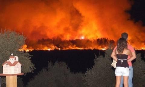 На Кипре собирают помощь пострадавшим в пожарах в Греции