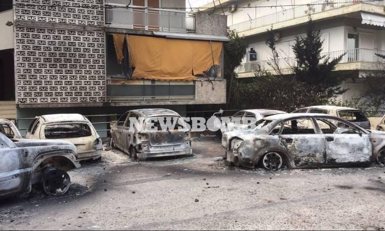 Φωτιά Αττική: Έτσι εγκλωβίστηκαν τα θύματα της φονικής πυρκαγιάς στο Μάτι (ΧΑΡΤΗΣ)