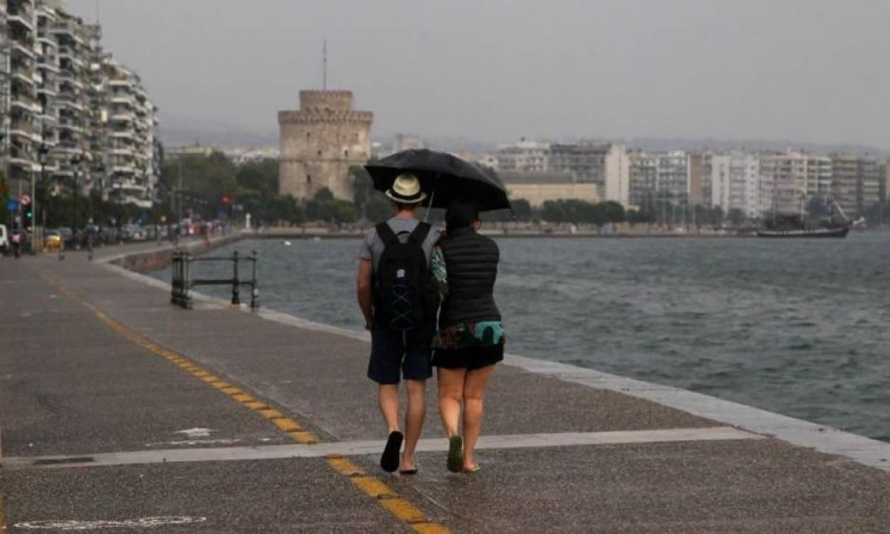 Καιρός Θεσσαλονίκη: Βροχές, καταιγίδες και χαλαζοπτώσεις μέχρι την Παρασκευή (27/7)