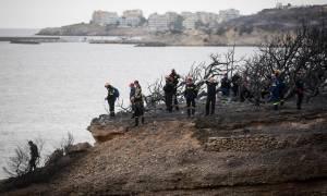 Φωτιά - Ανατριχίλα: Πλάνα διάσωσης ανθρώπων που πάλευαν στη θάλασσα από τη φρεγάτα «Έλλη»
