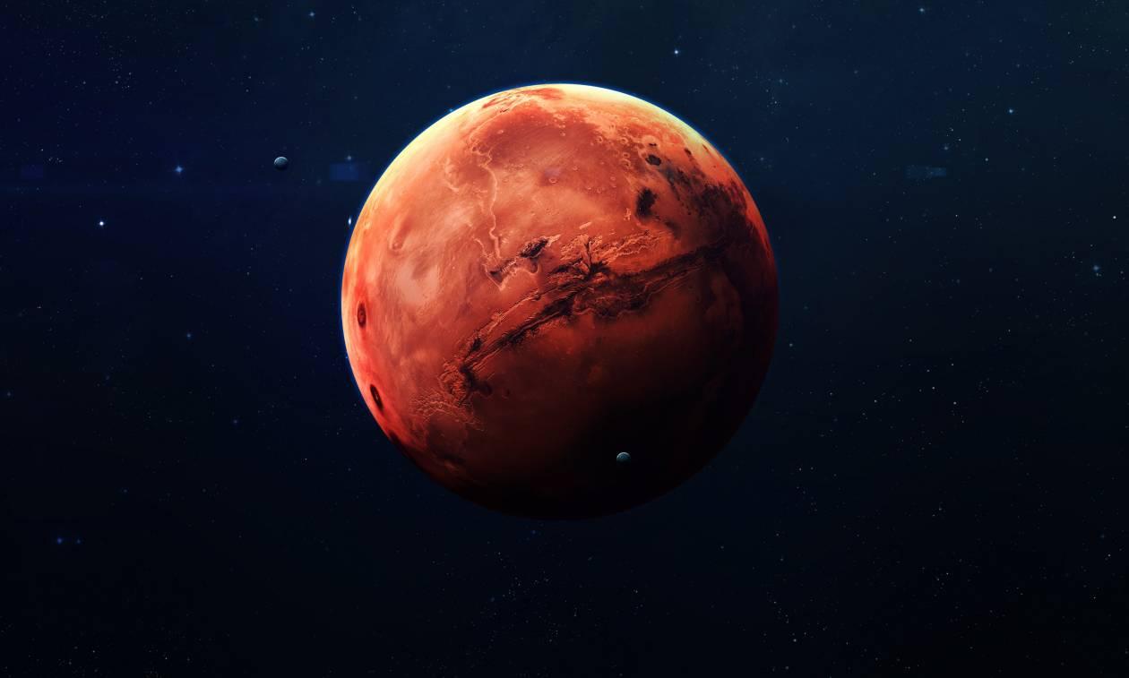 Συγκλονιστική ανακάλυψη: Βρέθηκε τεράστια λίμνη με νερό στον Άρη – Υπάρχει ζωή στον κόκκινο πλανήτη;