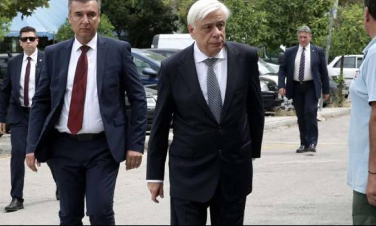 Φωτιά Αττική: Τους εγκαυματίες επισκέφτηκε στον Ευαγγελισμό ο Προκόπης Παυλόπουλος