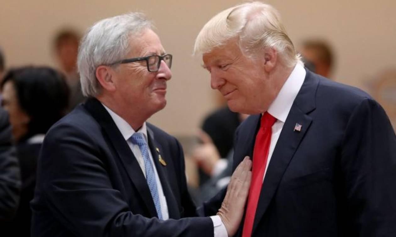 Τραμπ και Γιούνκερ έφεραν κέρδη στην Wall Street - Νέο ρεκόρ ο Nasdaq