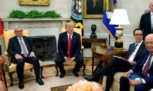 Συμφωνία Τραμπ - Γιούνκερ για το εμπόριο