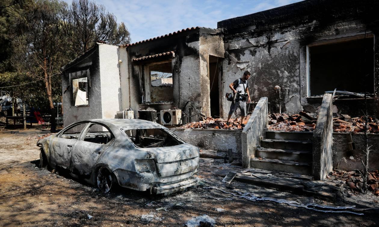 Αποτέλεσμα εικόνας για πυρκαγιά, φωτιά, Αττική, ΜΑΤΙ