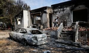Φωτιά Αττική: Στους 82 οι νεκροί από τη φονική πυρκαγιά στο Μάτι