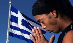 Ronaldinho: «Πονάω για την Ελλάδα μας. Κουράγιο Έλληνες»