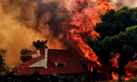 Тоскас: Причиной пожаров в Греции вероятнее всего стали поджоги
