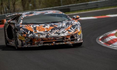 Η Lamborghini Aventador SVJ είναι η νέα κάτοχος του ρεκόρ στο Nürburgring (vid)