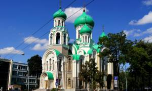 Φωτιά Αττική: Στα χρώματα της γαλανόλευκης οι Τρεις Σταυροί στο Βίλνιους (Pic)
