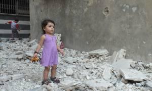 Συρία - ΟΗΕ: Δραματική αύξηση του αριθμού των παιδιών τα οποία σκοτώνονται και ακρωτηριάζονται