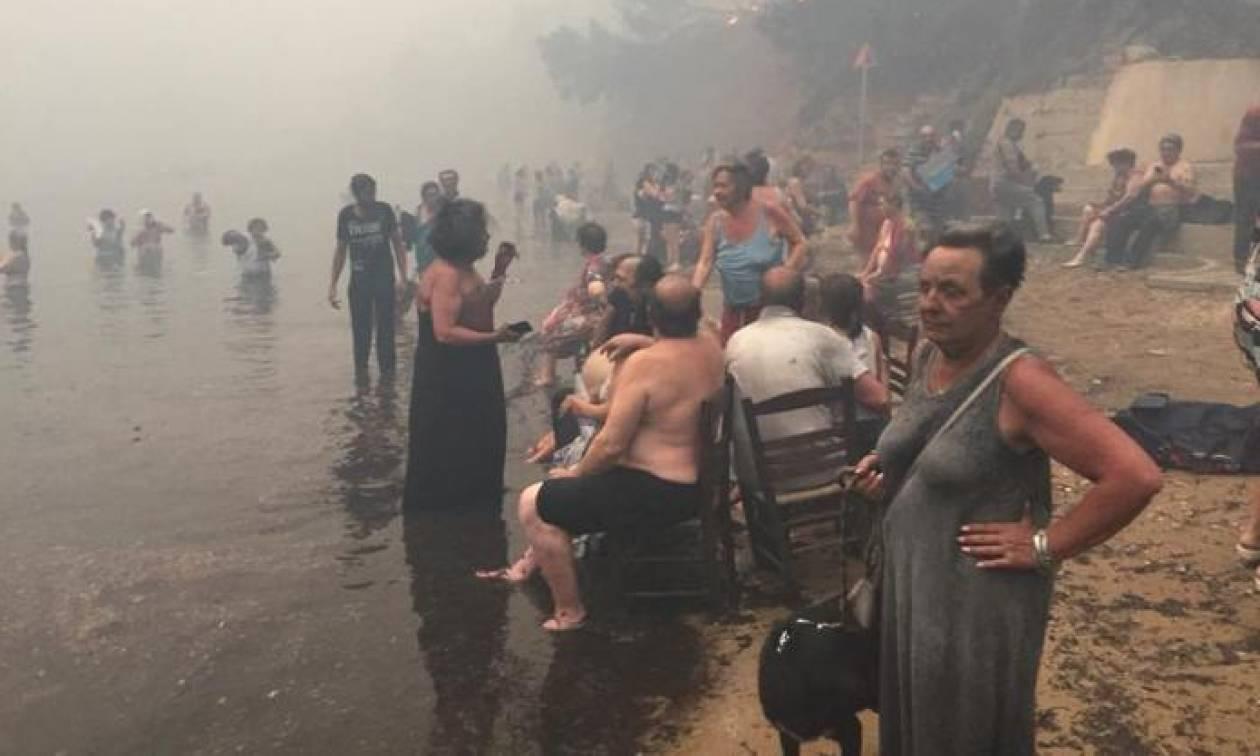 Φωτιά Μάτι - Φρίκη: Μητέρα θήλαζε το βρέφος της προσπαθώντας να το σώσει από την πυρκαγιά