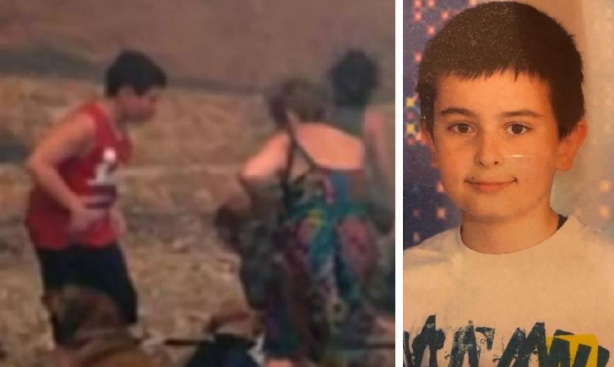 Φωτιές Αττική: Δραματικές εξελίξεις για τον 13χρονο Δημήτρη - Σβήνουν οι ελπίδες (pic)
