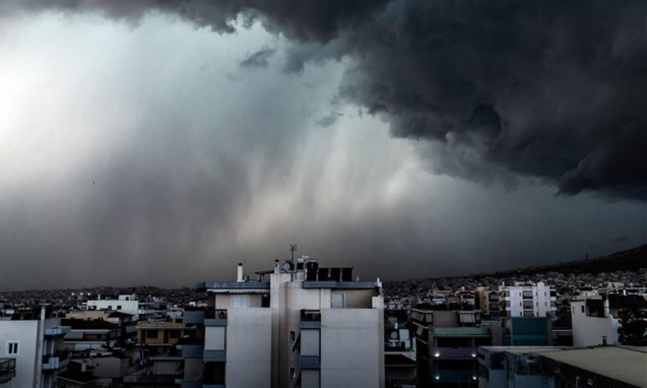 Καιρός: Προειδοποίηση Καλλιάνου για ισχυρές καταιγίδες σήμερα στην Αττική - Πού θα «χτυπήσουν»