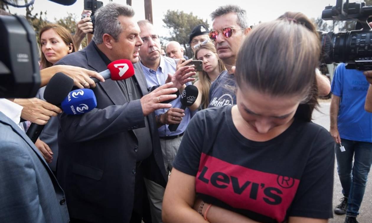 Φωτιά Μάτι: Λαϊκή οργή κατά Καμμένου μετά τις προκλητικές δηλώσεις