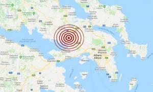 Σεισμός Θήβα: Έτσι κατέγραψαν οι σεισμογράφοι τη δόνηση που αναστάτωσε την Αττικοβοιωτία (pics)