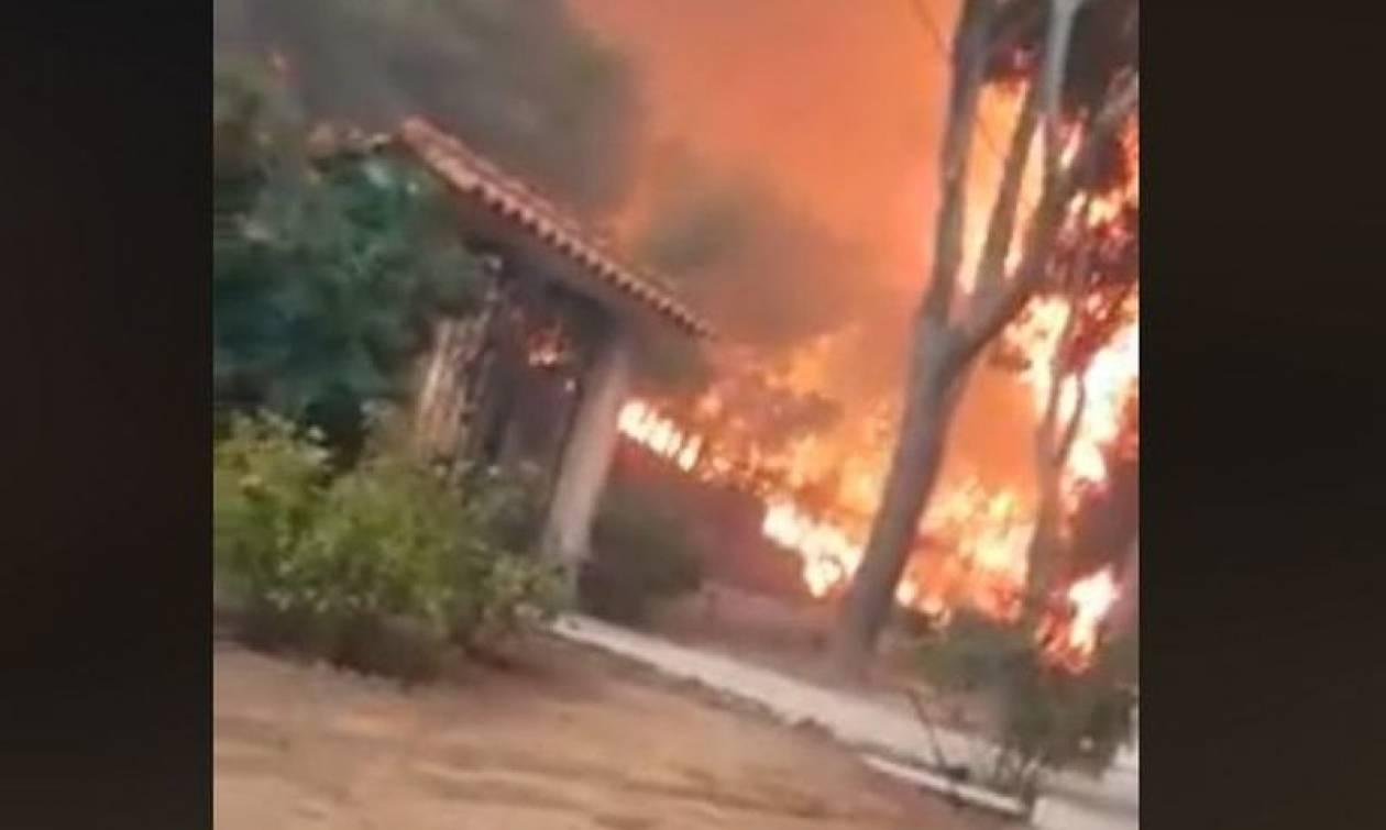 Φωτιά Μάτι: Αυτός είναι ο άνδρας που τράβηξε το σοκαριστικό βίντεο όταν η φωτιά κύκλωσε το σπίτι του