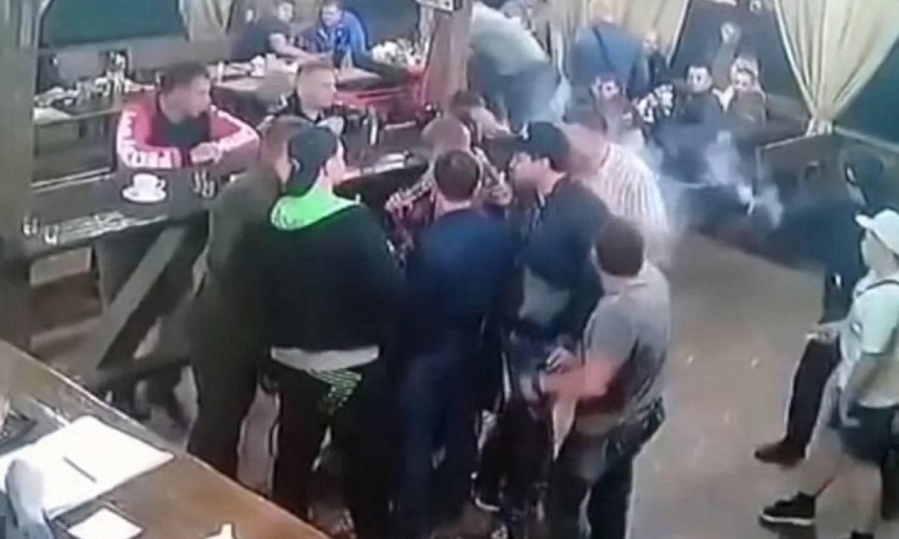 Σκληρό βίντεο: «Νονός» μαφίας εκτελείται εν ψυχρώ στο πάρτι της απελευθέρωσής του από τη φυλακή