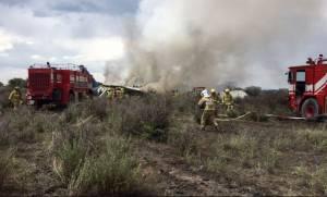 Μεξικό: Τουλάχιστον 85 τραυματίες από τη συντριβή αεροσκάφους - 2 σε κρίσιμη κατάσταση