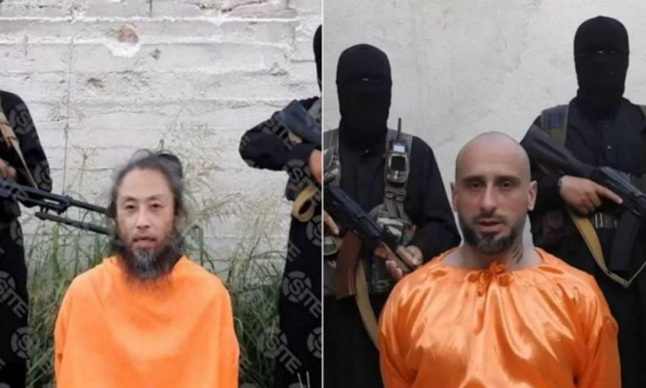 Συρία: Τζιχαντιστική οργάνωση κρατάει ομήρους έναν Ιταλό και έναν Ιάπωνα