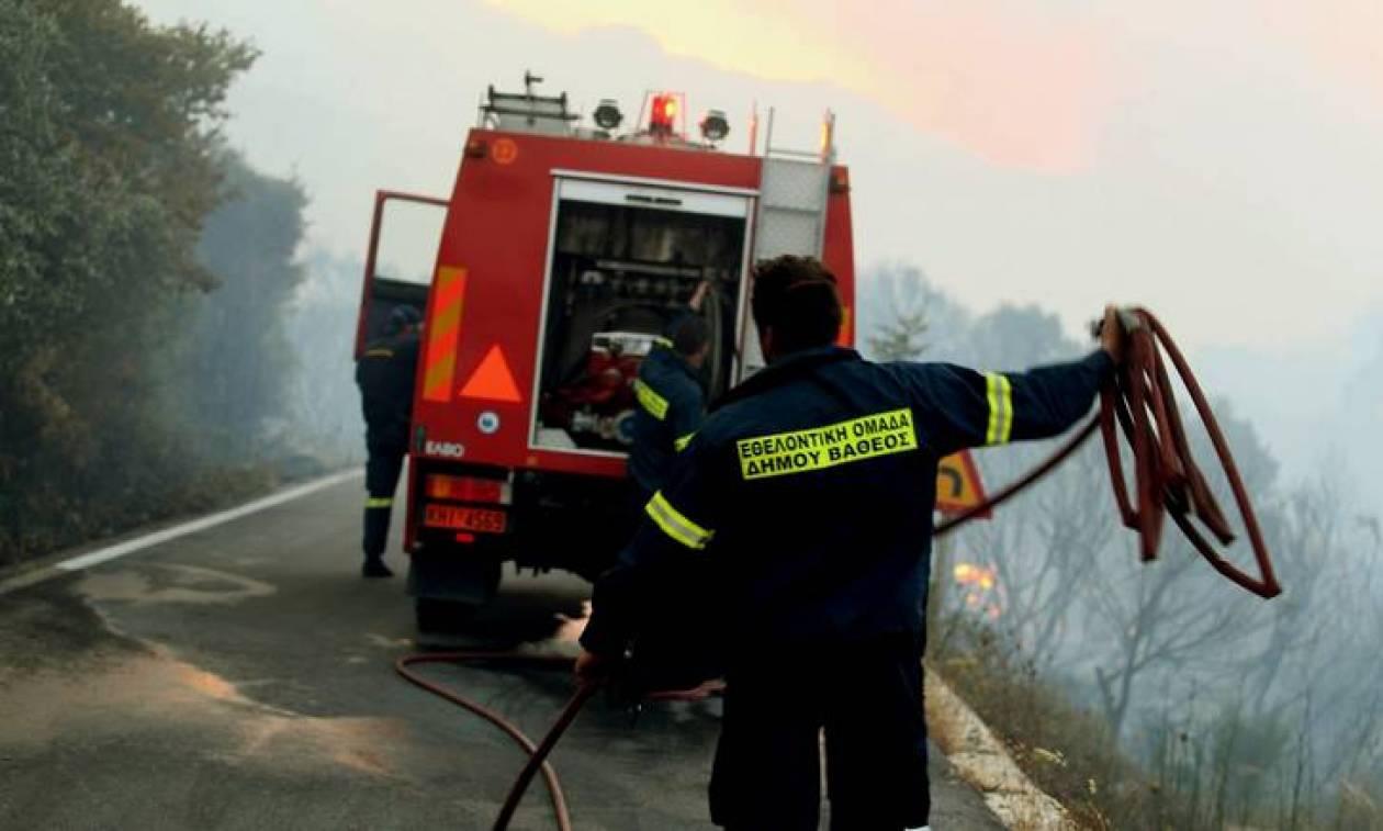 Προσοχή! Υψηλός ο κίνδυνος πυρκαγιάς σήμερα - Δείτε σε ποιες περιοχές (χάρτης)