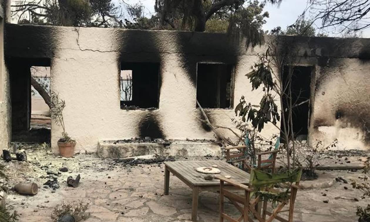 Φωτιά Μάτι: Κατατέθηκε τροπολογία για οικονομικές ενισχύσεις στους πυρόπληκτους