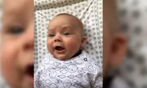 Η στιγμή που τα μωράκια πάνε να πούνε την πρώτη τους λέξη είναι μοναδική! (vid)