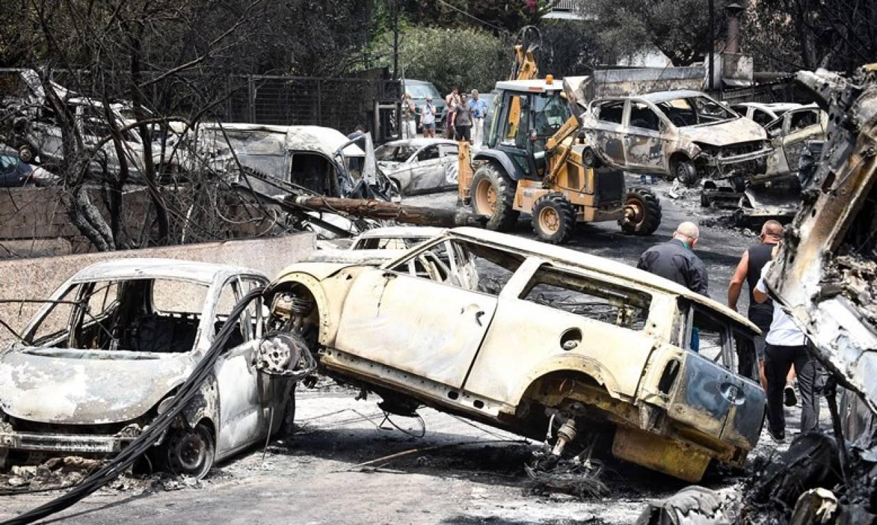 Φωτιά στο Μάτι - Τι συνέβη στη Λ. Μαραθώνος την ώρα της φονικής πυρκαγιάς