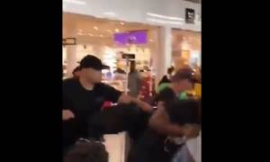 Κακός χαμός στο αεροδρόμιο Ορλί του Παρισιού: Διάσημοι ράπερ πλακώθηκαν στο ξύλο! (vid)