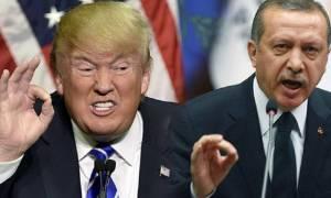 «Έξαλλος» ο Ερντογάν με τον Τραμπ: Τον απειλεί με σκληρές κυρώσεις