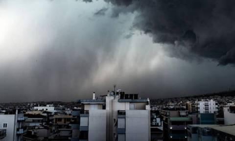 Καιρός Έκτακτο δελτίο ΕΜΥ - Προσοχή τις επόμενες ώρες: Πού θα «χτυπήσουν» έντονα φαινόμενα