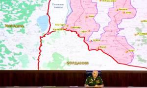 Υπό τον έλεγχο του στρατού τρεις επαρχίες στη νοτιοανατολική Συρία
