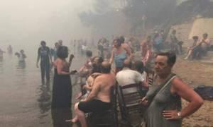 Φωτιά Μάτι: Συγκλονιστική μαρτυρία - «Η φωτιά έτρεχε σαν δαιμονισμένη» (vid)