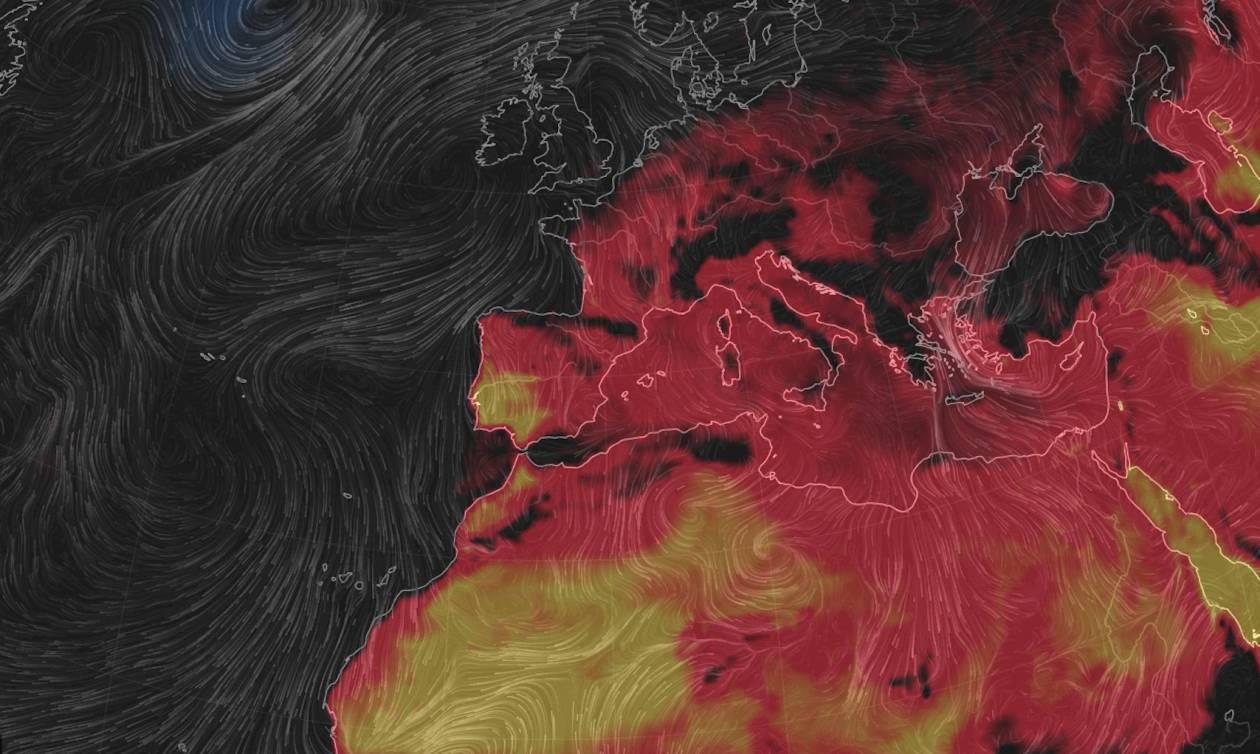 Καιρός: «Καμίνι που βράζει» η Ευρώπη - Έρχεται καύσωνας που θα μείνει στην ιστορία