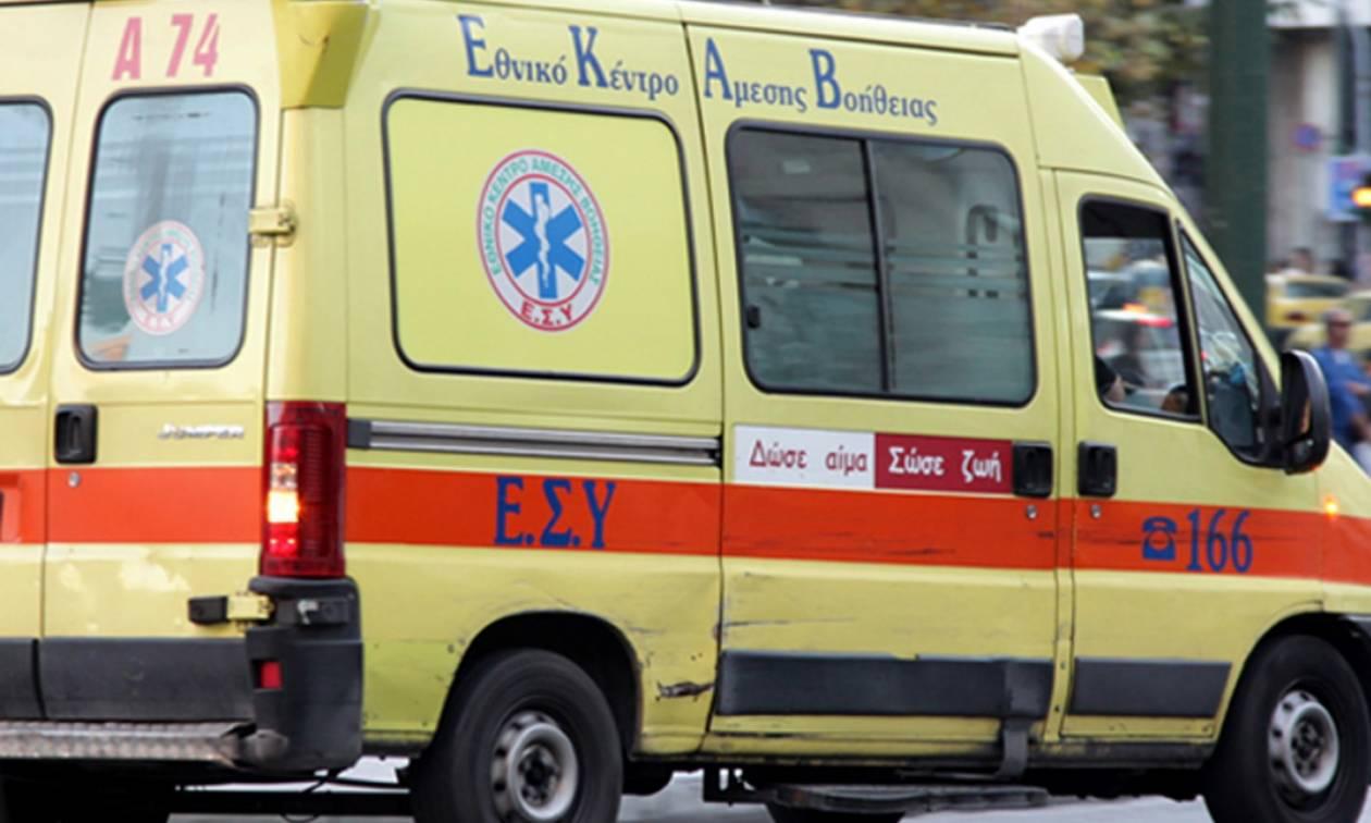 Λαμία: Μυστήριο με άνδρα που βρέθηκε στο δρόμο με χτύπημα στο κεφάλι – Δίνει μάχη για τη ζωή