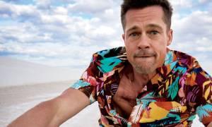 Κανείς δεν είχε παρατηρήσει αυτό που συμβαίνει στον Brad Pitt, ανάλογα με την σύντροφό του
