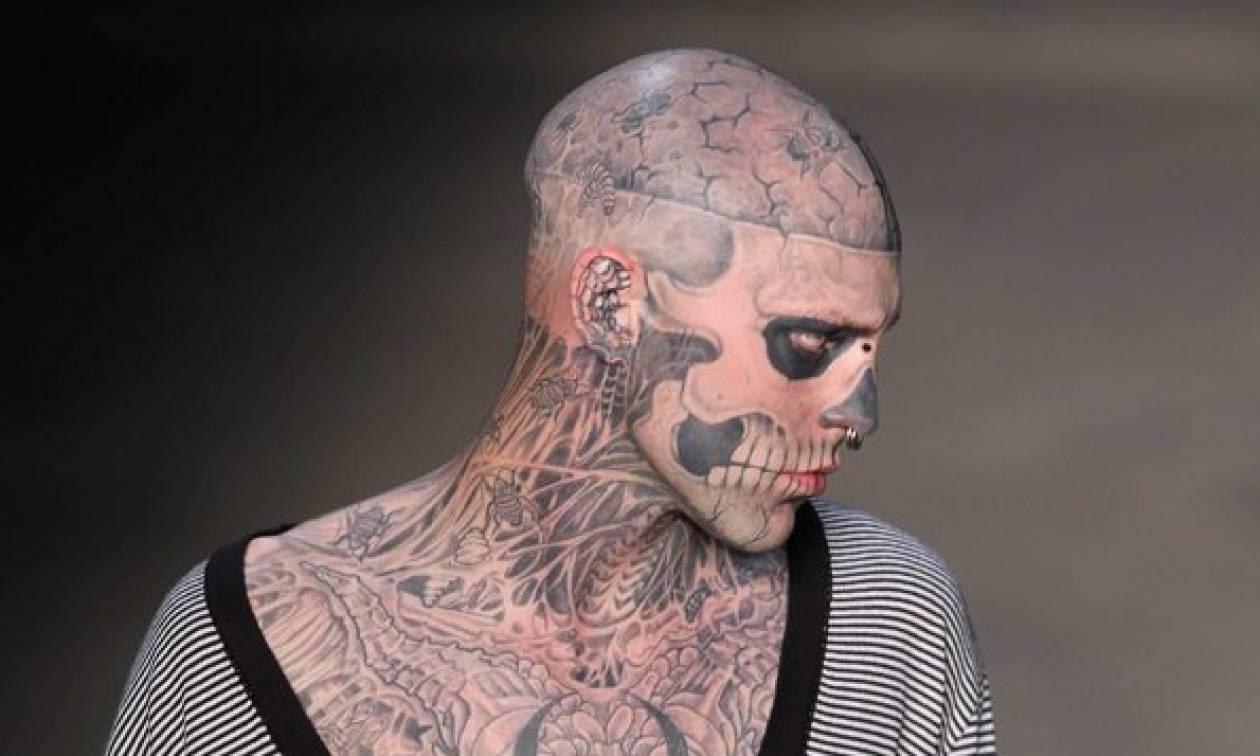 Θλίψη στο χώρο της μόδας από το θάνατο του διάσημου μοντέλου «Zombie Boy» (vid)