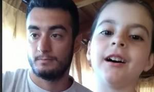 Θείος και κρητικοπούλα ανιψιά ρίχνουν το ίντερνετ τραγουδώντας Ερωτόκριτο και Αρετούσα
