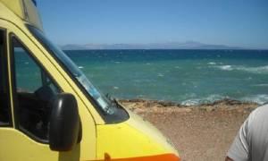 Νεκρός ανασύρθηκε λουόμενος από τη θάλασσα στη Χανιώτη Χαλκιδικής