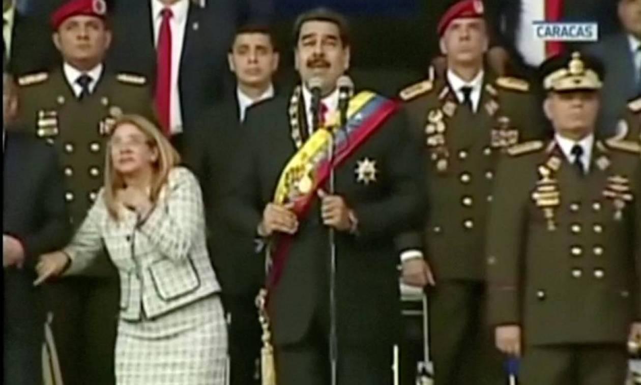 Απόπειρα δολοφονίας Μαδούρο: Δείτε τη στιγμή της έκρηξης (video)