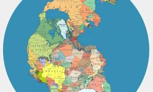 Πανγαία: Δείτε πού θα βρισκόταν η Ελλάδα στον χάρτη αν η γη δεν είχε διαχωριστεί σε ηπείρους