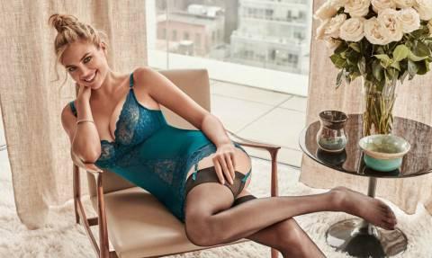 Ολοκαίνουργια ξεσηκωτική φωτογράφηση της Kate Upton με εσώρουχα