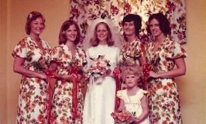 Παράνυμφοι από άλλες εποχές - Δείτε τα απίστευτα φορέματά τους (pics)