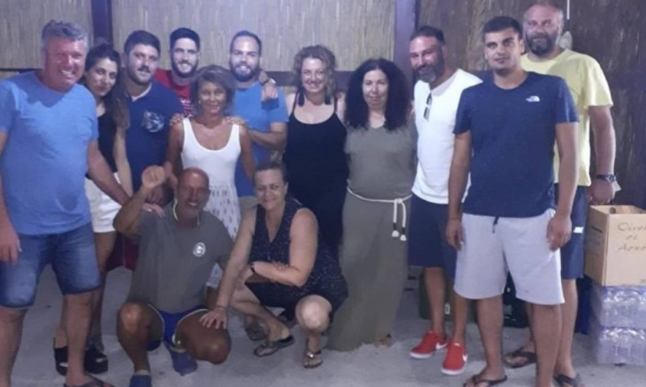 Ιταλοί έζησαν την κόλαση της φωτιάς αλλά γνώρισαν τη ζεστασιά και την αλληλεγγύη των Κρητικών
