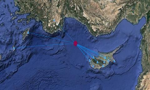 На Кипре произошло землетрясение магнитудой 3,8 балла