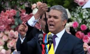 Κολομβία: Ο Ιβάν Ντούκε ορκίστηκε κι έγινε ο 60ος πρόεδρος της χώρας