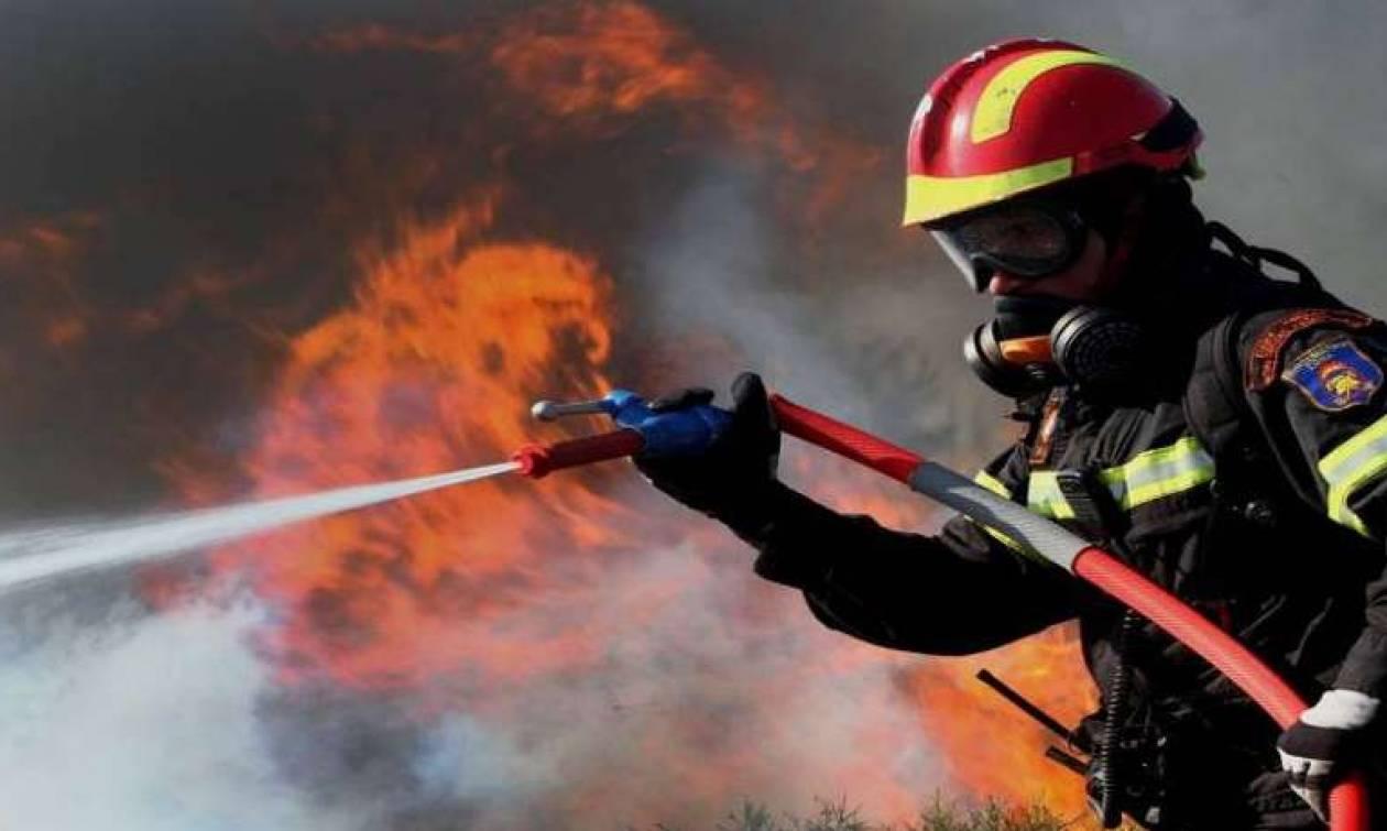 Πολύ υψηλός κίνδυνος πυρκαγιάς και για αύριο Πέμπτη (09/08)