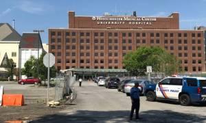 Πυροβολισμοί σε νοσοκομείο στη Νέα Υόρκη (pics+vid)